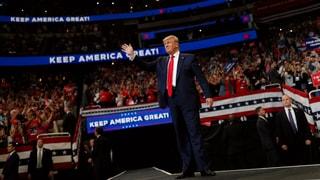 Trump läutet offiziell seinen Wahlkampf ein