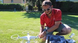 Zu Besuch in der ersten Drohnenschule der Schweiz