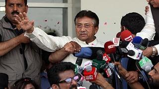 Musharraf will in Pakistan wieder mitreden