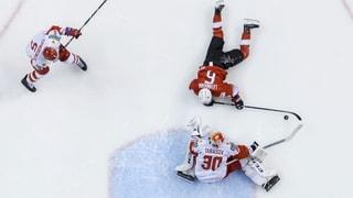 Schweiz verliert spektakuläres Spiel gegen Russland
