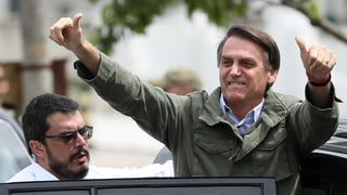 Jair Bolsonaro ist Brasiliens neuer Präsident