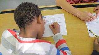 Wo Kinder von Asylbewerbern Deutsch lernen