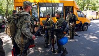 Armee vertreibt pro-russische Milizen aus Slawjansk