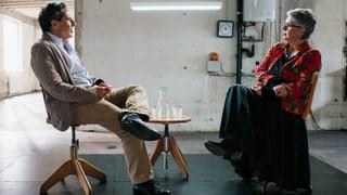 Medienpionier Roger Schawinski trifft Autorin Susanna Schwager (Artikel enthält Video)