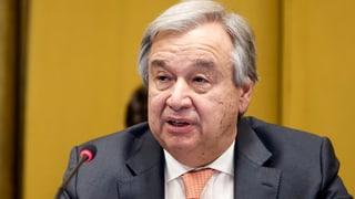 UNO-Chef will die Gewalt in Gaza beenden