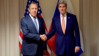 Waffenruhe in Syrien: Kerry verkündet «vorläufige Einigung»