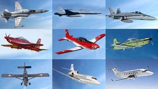 Diese Flugzeuge schützen unser Land