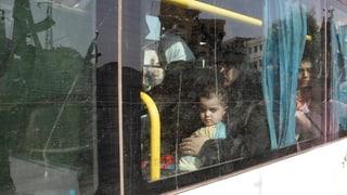 Evakuierung aus einem syrischen Ort des Schreckens