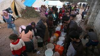 Syrische Flüchtlingszahl übersteigt Millionengrenze