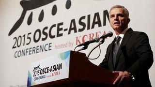 Burkhalter appellescha per ina pli ferma collavuraziun en l'Asia