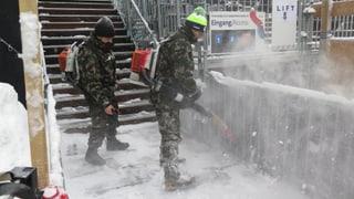 Kampf gegen Schnee, Kälte und den inneren Schweinehund