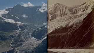 Gletscher schmelzen – aber weniger stark als im Hitzesommer 2003