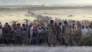 IS-Kämpfer erobern Dutzende syrische Dörfer