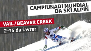 Campiunadi mundial da ski alpin Vail / Beaver Creek 2015