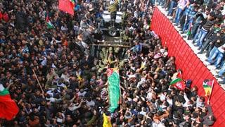 25'000 bei Trauerfeier für palästinensischen Häftling