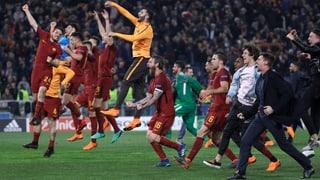 Römer schaffen die Sensation gegen Barcelona