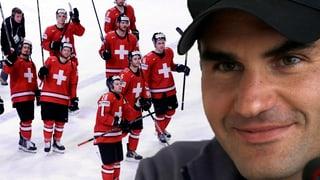 Federer freut sich «wie ein Kind» über Hockey-Nati