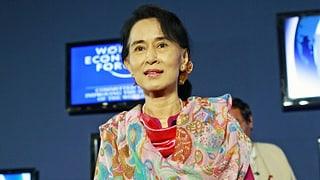 Aung San Suu Kyi will Präsidentin werden