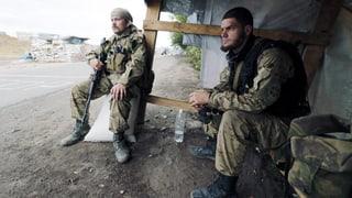 Pro-russische Separatisten lassen 1200 ukrainische Soldaten frei
