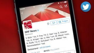 @srfnews auf Twitter folgen