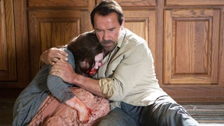 Wenn's um Zombies geht, ist der Arnie rührend