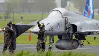 Sollen die Tiger-Kampfjets noch repariert werden?