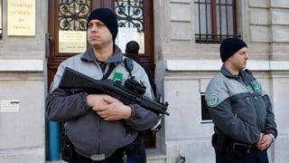Arrestaziuns a Genevra