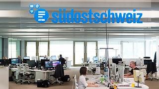 """La """"Südostschweiz"""" sto spargnar"""