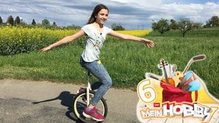 Tabitha: «Einradfahren ist fast wie Fliegen»