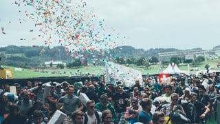 So crazy hat das Openair St. Gallen begonnen (Artikel enthält Video)