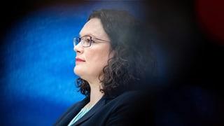 Schicksalstage für die SPD und ihre Chefin Nahles