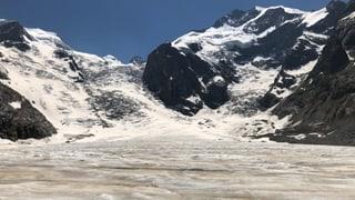 Morteratschgletscher verliert eine Million Tonnen Eis am Tag