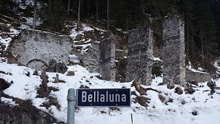 Miniera Bellaluna en decadenza