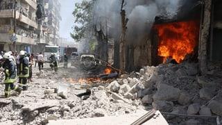 Trotz Feuerpause: Kämpfe in Aleppo gehen weiter