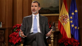 Felipe fordert «Gelassenheit und gegenseitigen Respekt»