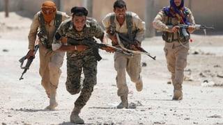 Zwei Löcher in der Mauer – Anti-IS-Miliz dringt in Altstadt ein