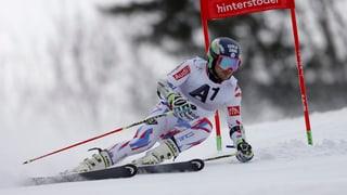 Alexis Pinturault sisum il podest dal slalom gigant