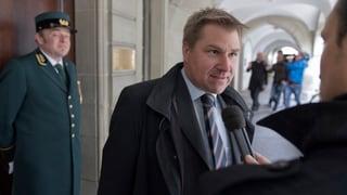 Toni Brunner: «Wir stehen nicht in der Pflicht»