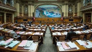 FDP, SP und SVP wollen Ausserrhoder Nationalratssitz