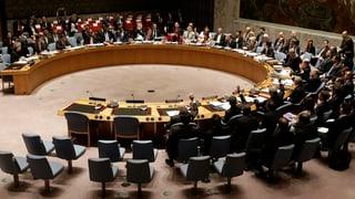 Sicherheitsrat verabschiedet Syrien-Resolution