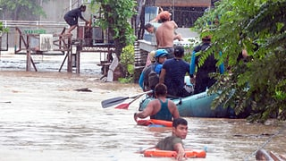 Tropensturm fordert mindestens 200 Menschenleben