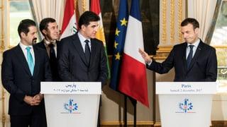 Macron fordert vom Irak schrittweise Auflösung aller Milizen