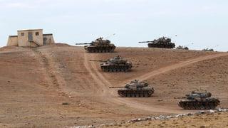 «Die Panzerrohre sind auf Syrien gerichtet»