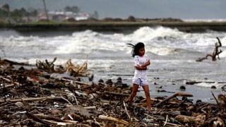 «Hagupit» trifft auf den Philippinen auf Küstenstadt