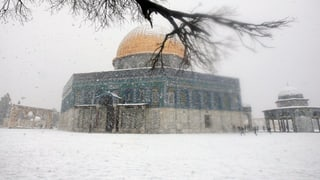 Kältewelle im Nahen Osten