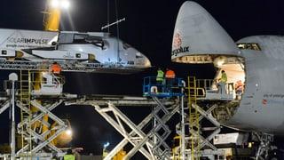 «Solar Impulse 2» in Abu Dhabi angekommen