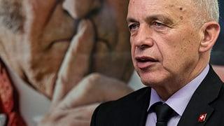 Ueli Maurer: «Panzerschlachten und Kalter Krieg sind vorbei»