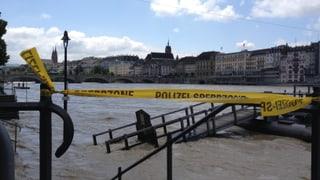 Entwarnung am Kleinbasler Rheinufer