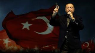 Präsident Erdogan schwingt die Nazi-Keule gegen Deutschland.