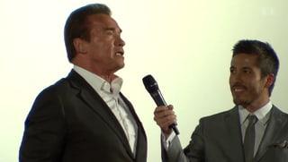 Max Loong: «Schwarzenegger und ich trainieren im gleichen Studio»
